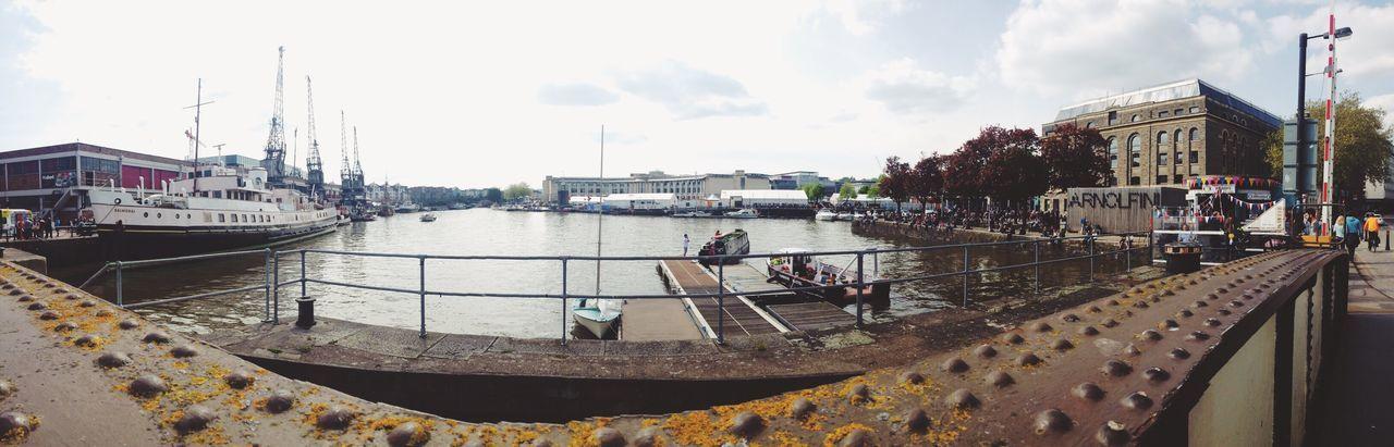 Panorama Bristol, England