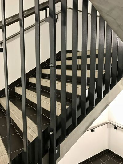 Interior Views Lines And Angles Stairs Steps Architecture Built Structure Day Eyeem Collection Indoors  Indoors  Interior Interior Design Metal Structure No People Pattern Staircase Stairways Steps And Staircases Urban