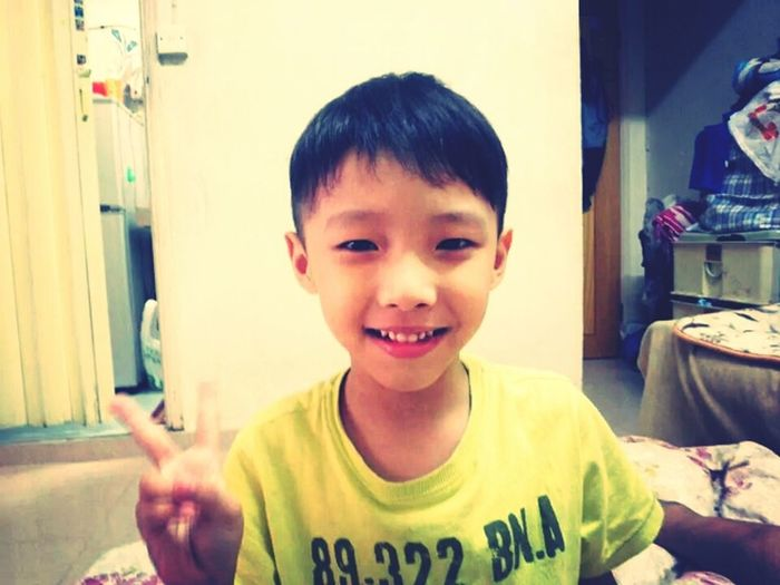 My cute lil Bro...:) (3