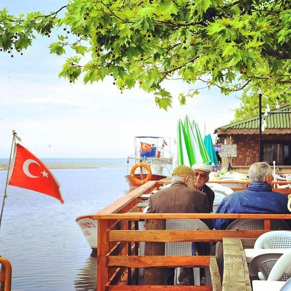 Karasu Yenimahalle Dedeler Sohbet deniz bayrak sakarya