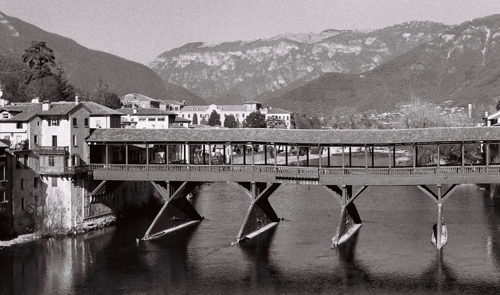 Bassano Del Grappa Italy Ponte Degli Alpini