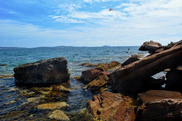 Landscape Landscape_Collection France🇫🇷 Water Sea Rock - Object Cloud - Sky Seascape Coast