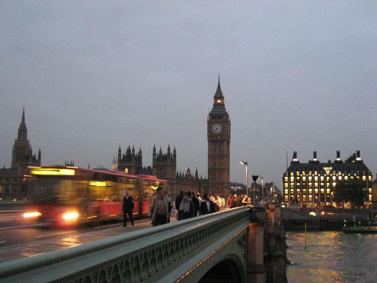 Big Ben Bridge Bus City Cloud - Sky England London London Lifestyle Londonbus