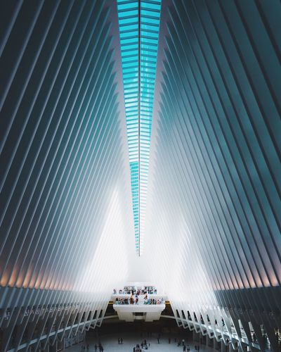 @itchban / itchban.com Architecture Futuristic New York Architectural Column Linesandshapes Subway Wide Wide Angle The Architect - 2018 EyeEm Awards