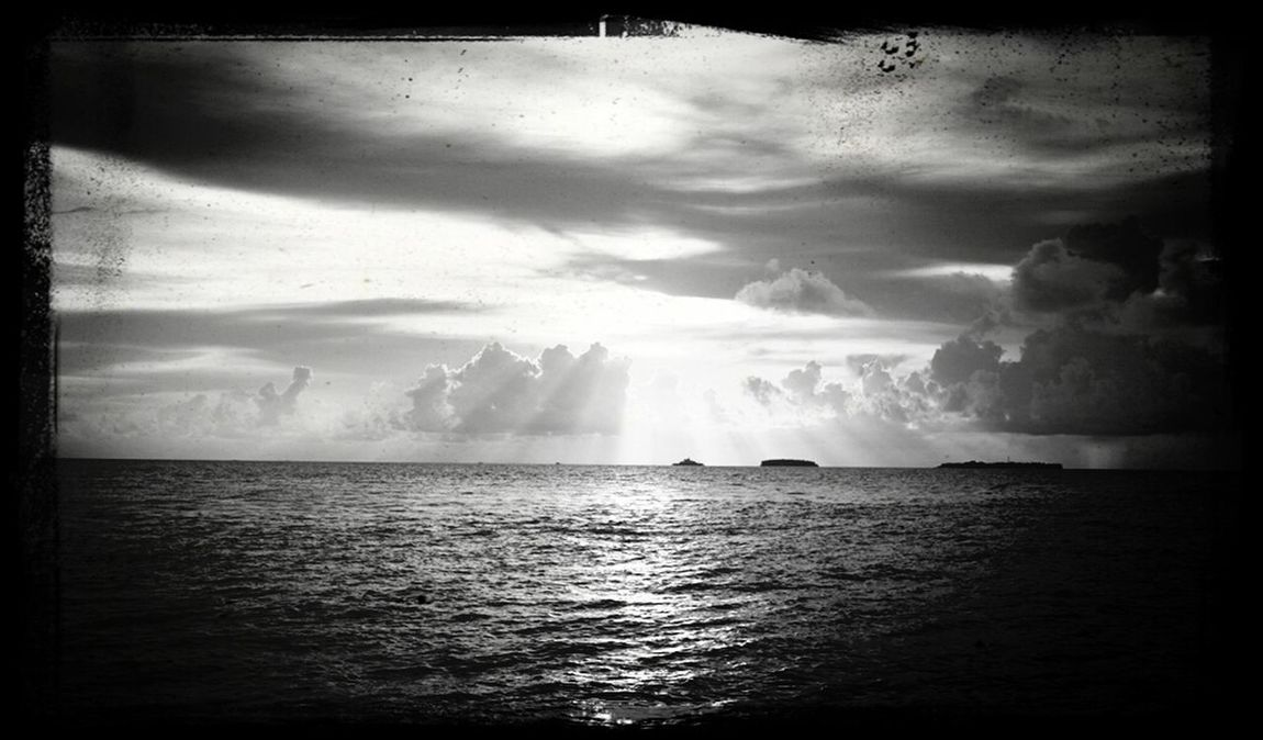 Sunset Clouds Ocean Taking Photos