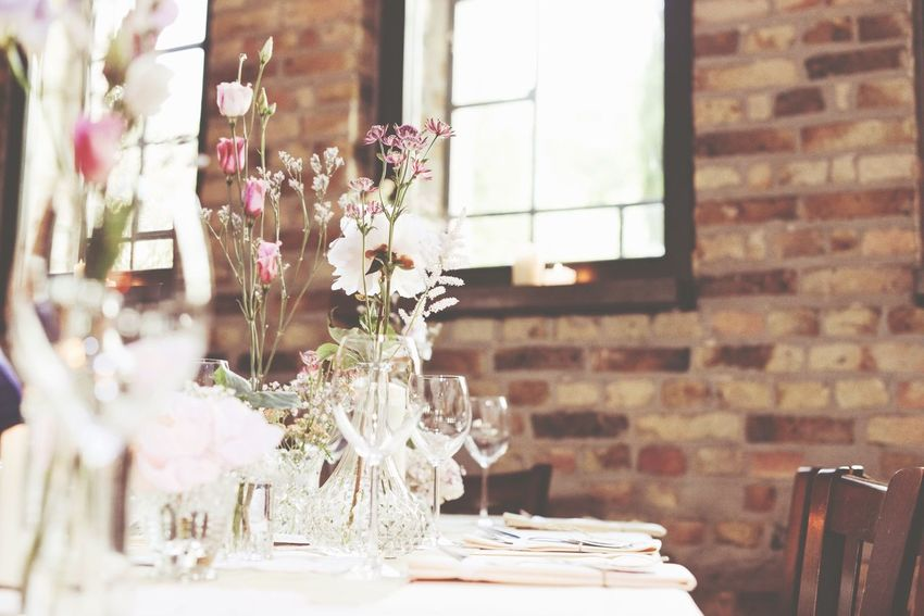 On The Table Flowers Decoration Beautiful Details Interior Design Beautiful Surroundings Lovely Simplicity Depth Of Field