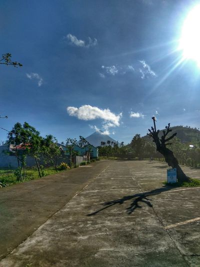 Tree Cloud - Sky Nature Landscape Sky Outdoors Day Eyeem Philippines Mountain Mt Mayon Bicol, Philippines