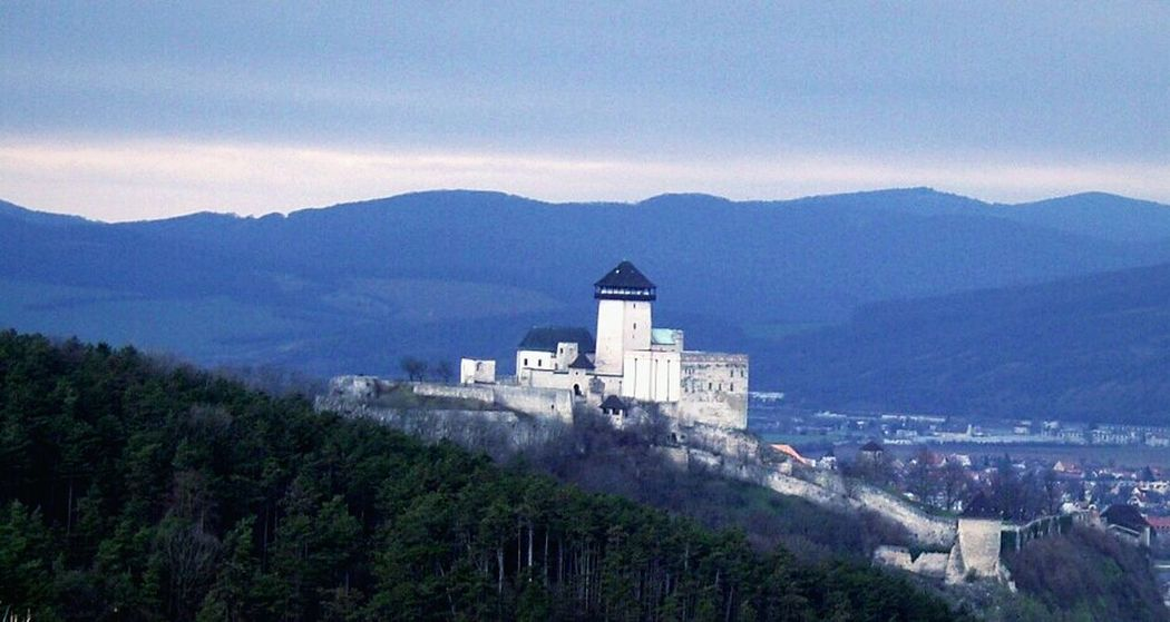 Castle Architecture Hrad Mountains Mountain View Povazie Trees Tower City Dominanta