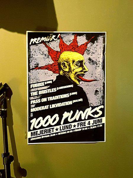 Punk Punkrocker Punkrock Post Punk Poster Liveband Mohican Affish Punkmusic Yellow Red Hair Puncroccer Punk Cartoon