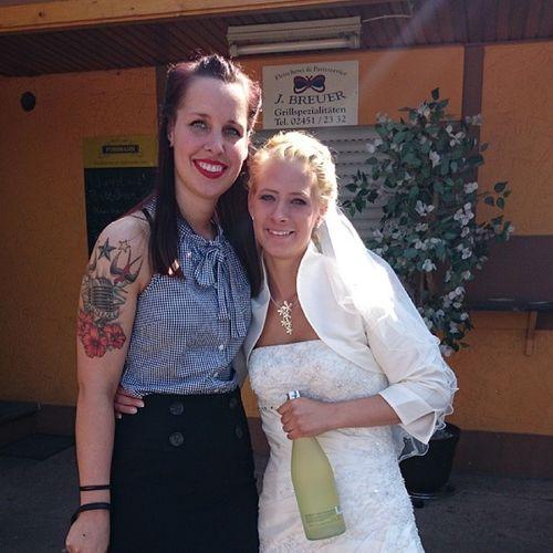 Schönste Braut Derwelt Samstag Hochzeit liebe Sonnenschein