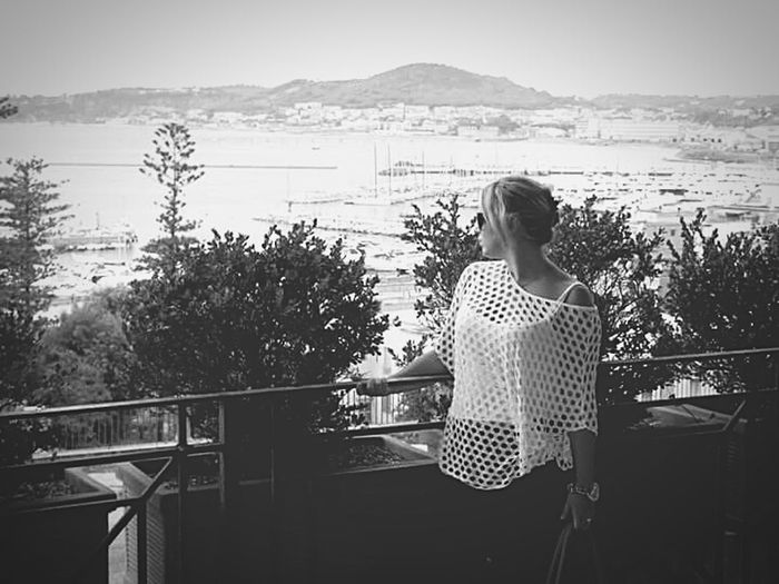 People And Places Vacations Italy🇮🇹 Italia Italian Napoles Napoles Napoli Napolitano Pozzuoli Person Young Adult Day Sea Looking At View Summer Casual Clothing Pozzuoli, Sunset,