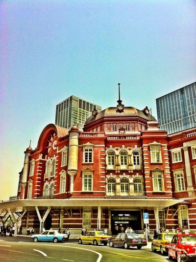 Tokyo Station Train Station BOB Brick Old Building