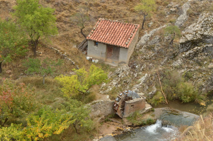Molino De Agua House Built Structure Water Architecture Building Exterior Nature No People