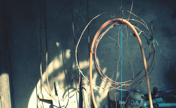 EyeEm Selects No People Day Outdoors Hanging Close-up Metal Things Old Items Industry