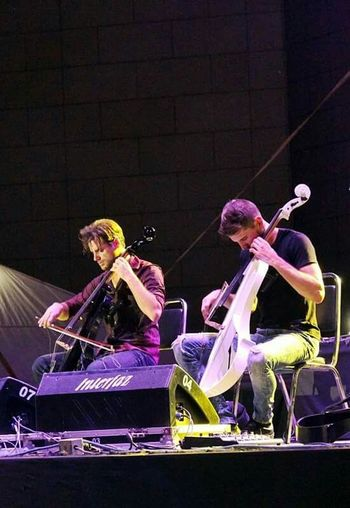 2Cellos last night , awesome concert. 2cellos In Concert 2cellos Music Enjoying Life Live Music Rock Classicmusic Cellos Two Cellos Fortheloveofmusic