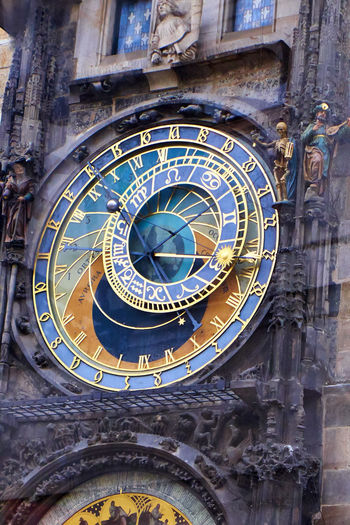 Astronomical clock at Prague, Chez Republic #tourism Architectural Feature Architecture Art Astronomicalclock Astronomy Built Structure Capital Cities  Carving - Craft Product Chezh Republuc Circle Clock Design Easter Europe Europe Historical Monuments History Low Angle View No People Ornate Prague Science The Past Tourism Travel Destinations