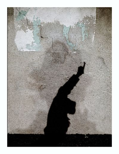 Resist Art is Everywhere Wall Art Real People One Person Textured  Day Outdoors Human Hand Close-up