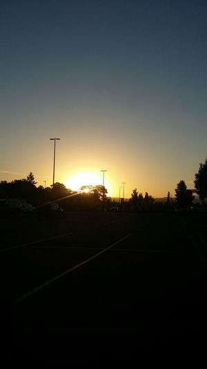 Morning sunrise in Battle Ground, WA