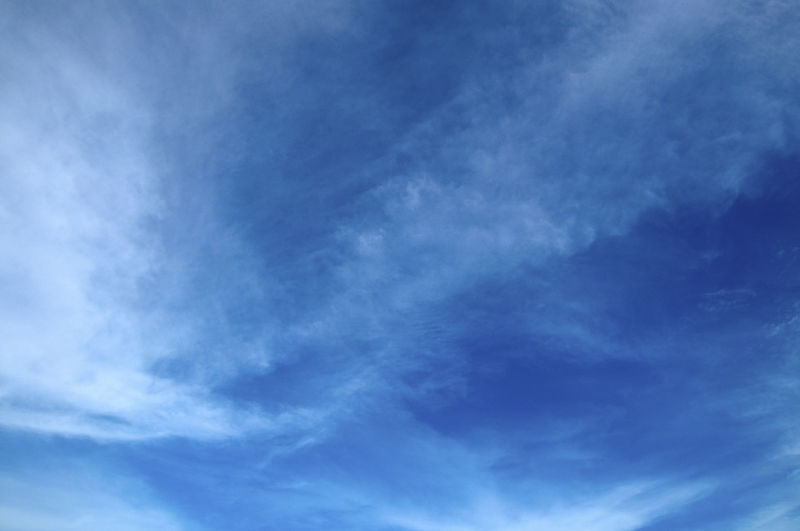 Cloud - Sky Sky Beauty In Nature Low Angle View Blue No People Backgrounds Scenics - Nature Tranquility Nature Tranquil Scene Day White Color Full Frame Outdoors Idyllic Environment Meteorology Cloudscape Wispy
