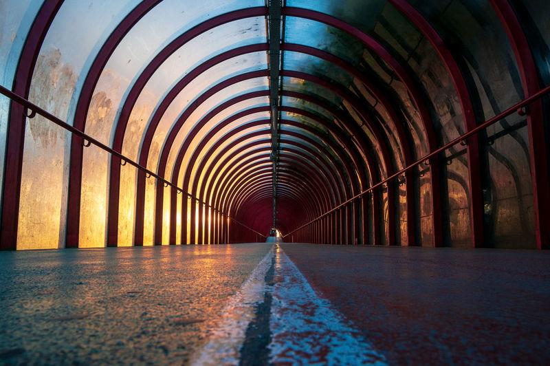 Glasgows glass covered walkway