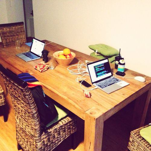 New year coworking / hacking.