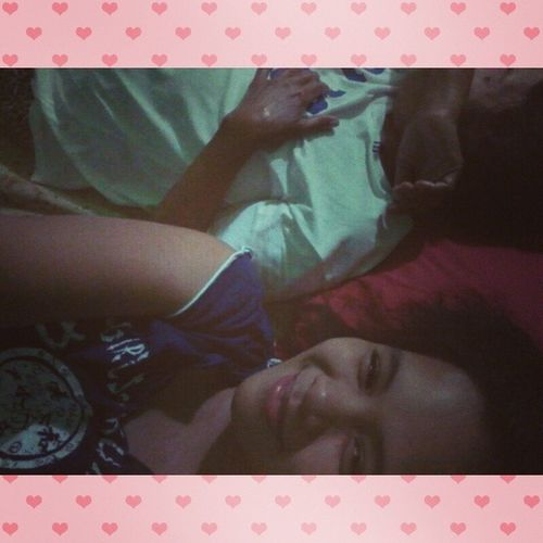 Sleeping Beside my Most Favorite Person In The World My Mama. :) NightEveryone IcantbarelyOpenMyEyes Imsotired