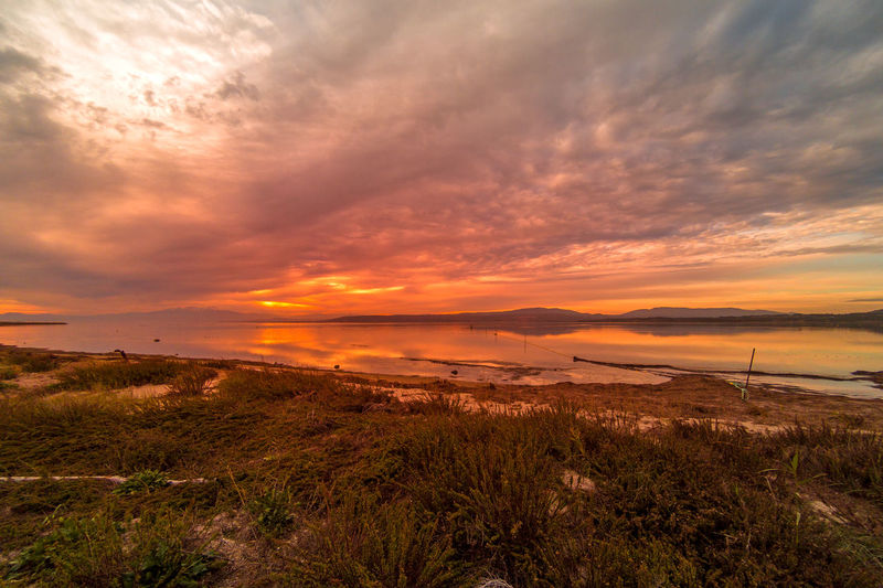Beach Beauty In Nature Cloud - Sky Fitougraphie Landscape Laurent Vankilsdonk Leucate Nature No People Outdoors Sea Sky Sunset Tourism Water