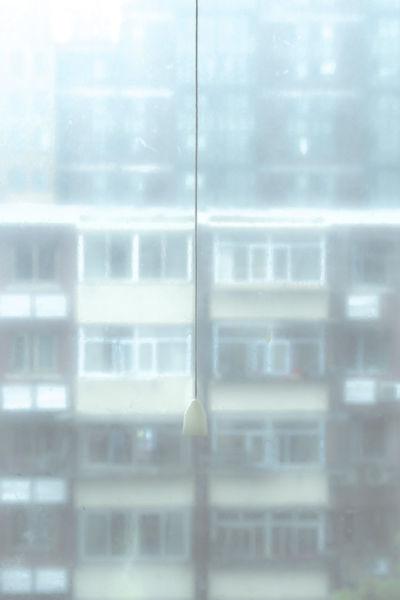 早起又见雾霾,出门复觉晴朗,心底一声长叹,窗户咋这么脏。 so dirty the window, don't know if it's a good weather Blur Building Exterior City Dirty Moisty Morning Out Of The Window Window