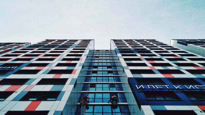 Mobilephotography City Skyscraper Occupation Business Men Modern Architecture Building Exterior Sky Built Structure