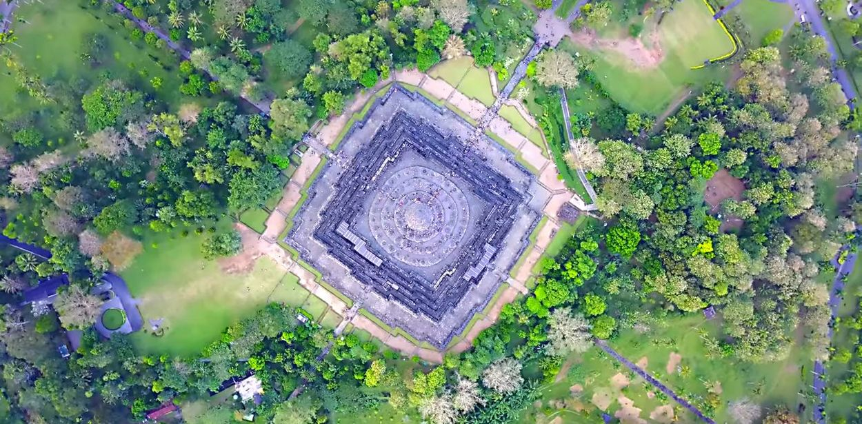 Borobudur Tample Architecture History History Building Naturelovers Bulding Tample Java Candi Borobudur Indoneaia History EyeEm 2018 Eyeem Photography Flower High Angle View Close-up Grass Plant
