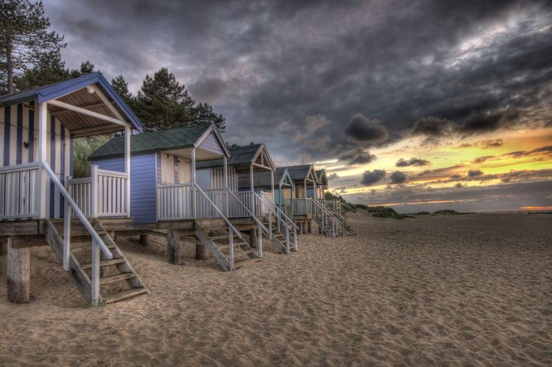 Beach Huts HDR Nature On Your Doorstep Wells-next-the-Sea Beach Sunset EyeEm Best Edits The Great Outdoors - 2015 EyeEm Awards Eye4photography  Hdr_Collection Landscapes With WhiteWall The KIOMI Collection The Great Outdoors With Adobe The Great Outdoors - 2016 EyeEm Awards 43 Golden Moments Fine Art Photography Live For The Story EyeEm Ready