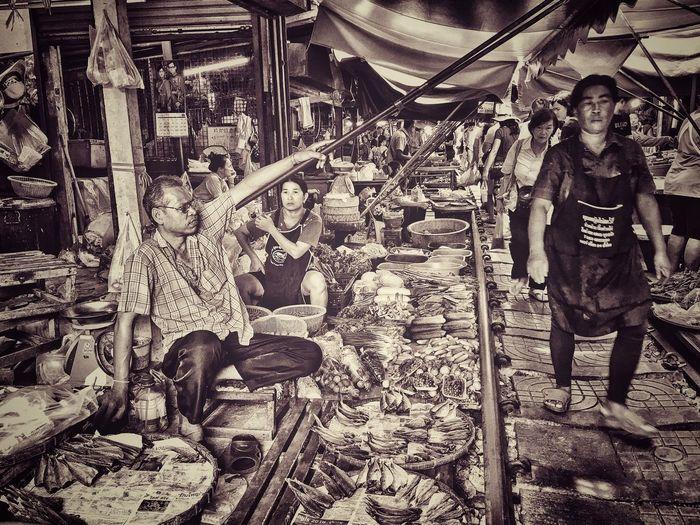 Thailand Market Market Outdoors Still Life Street Market Hello World Life In Thailand Thailand Only Enjoying Life Free Man Market Stall Small Business