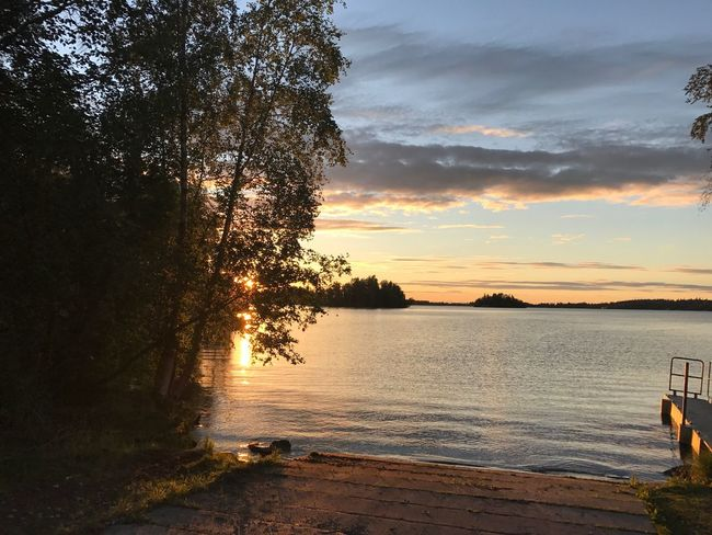 Big Lake, Alaska Sunset Tree Water Beauty In Nature Nature Scenics Sky Sea Tranquility Tranquil Scene Beach No People Outdoors Silhouette Cloud - Sky Day EyeEmNewHere Lost In The Landscape Lost In The Landscape