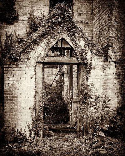 Blackandwhite Ruin Ruinhouse Old Broken Tilmanstone