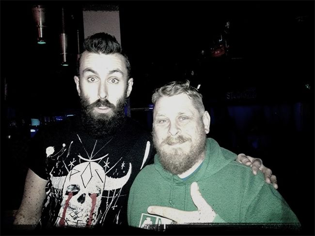 Meeting Scroobius Pip at THe Merch Booth - WoW!!