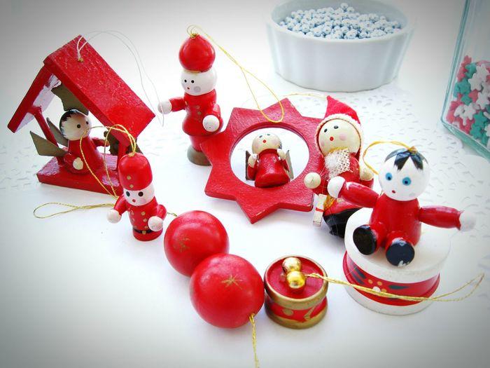 Preparing Christmas! Vintage Christmas decorations and ornaments! Unykaphoto Christmas Spirit Christmas Decorations Christmas Ornaments Vintage Christmas Decorations