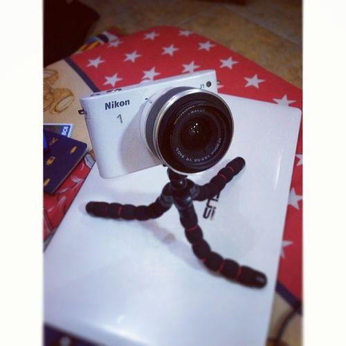 finally i got it, flexible tripod Mirorless Nikon1 J1