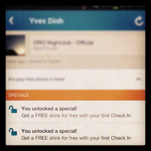 Thank you, Foursquare .