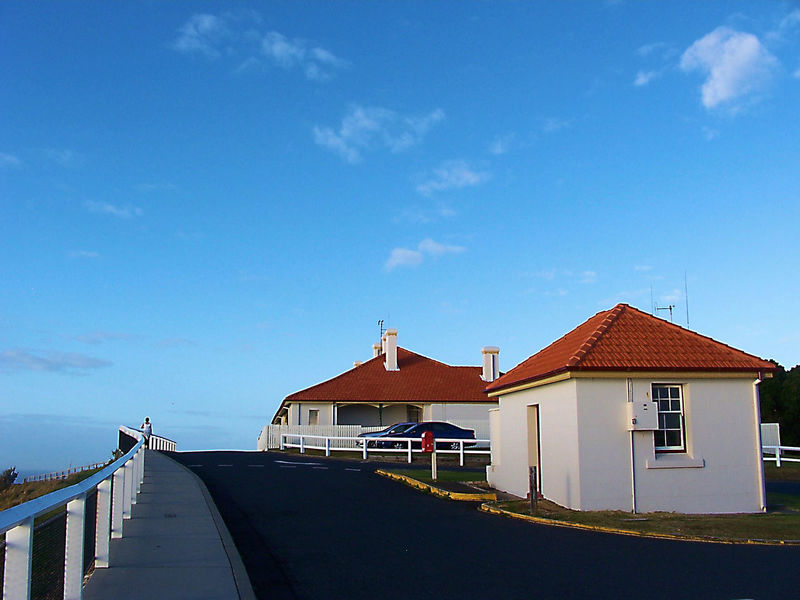 Architecture Blue Sky Building Exterior Built Structure Byron Bay Lighthouse Clean Photo Cloud - Sky Day No People One Person Outdoors Sky