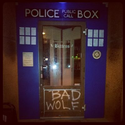 It's bigger on the inside... Tardis Savetheday BittensRockbar