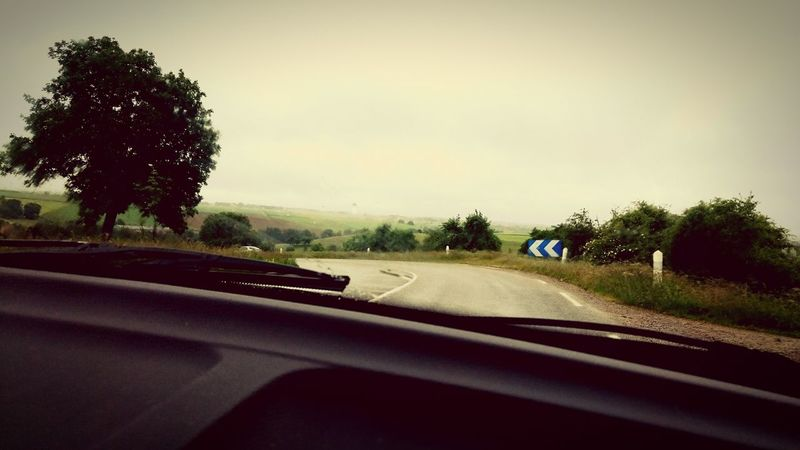 On The Road Rainy Days