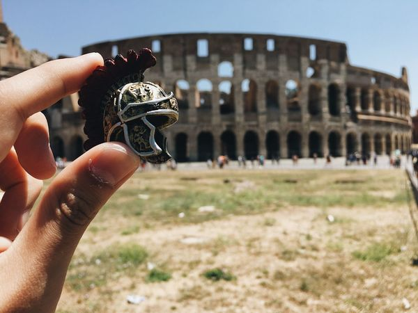 Rome colosseum Human Hand Human Body Part Real People One Person Holding Outdoors Focus On Foreground History Leisure Activity Day Close-up Old Ruin Lifestyles Sky People Rome Colosseum Gladiator Italy Your Ticket To Europe Investing In Quality Of Life The Week On EyeEm Mix Yourself A Good Time Rethink Things