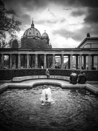 Architecture Water Travel Destinations Sky Dome Berlin Architecture Travel Blackandwhite Cloud - Sky Polishphotographer Www.tomaszkucharski.com.pl HuaweiP9 Old Buildings Huawei Berliner Dom