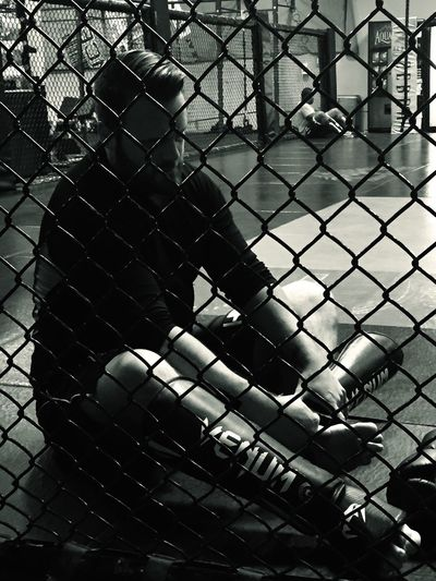 MMA Fighting Workout Gear Up