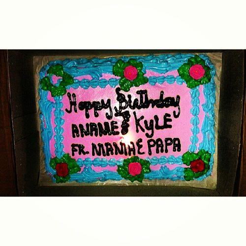 From Yesterday Birthday celebration:)Cake Yummy 52913