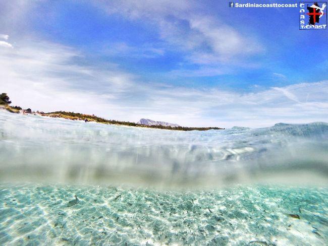 Sardiniacoasttocoast Sardinia Gopro Water Underwater Landscape Tavolara Amazing Summer Enjoying Life