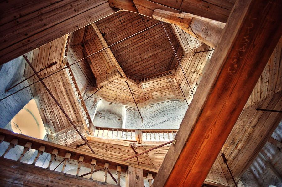 Indoors  Built Structure Architecture Ceiling No People Low Angle View Window Wood - Material Day Close-up EyeEmNewHere