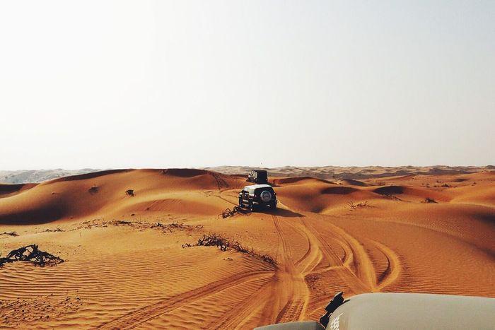 Drive around. Desert Dunes Offroad 4x4 43 Golden Moments