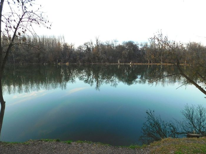 Beautitul Blue Sky Mirroring In Water Showcase: February