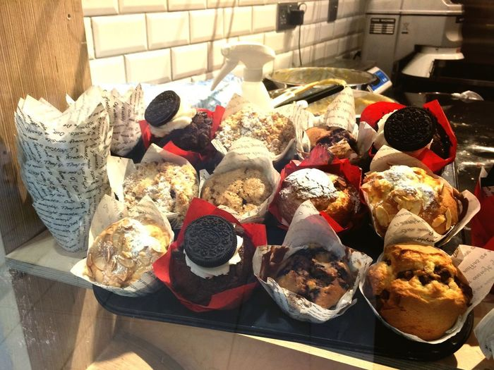 Muffins !! Food Food And Drink Variation High Angle View No People Freshness Indoors  Ready-to-eat Close-up